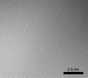 Typical TEM Image of ACS Material Monolayer hBN