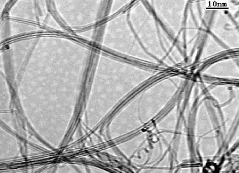 TEM Image of ACS Material Purified SWCNTs (Length = 5-30 μm)