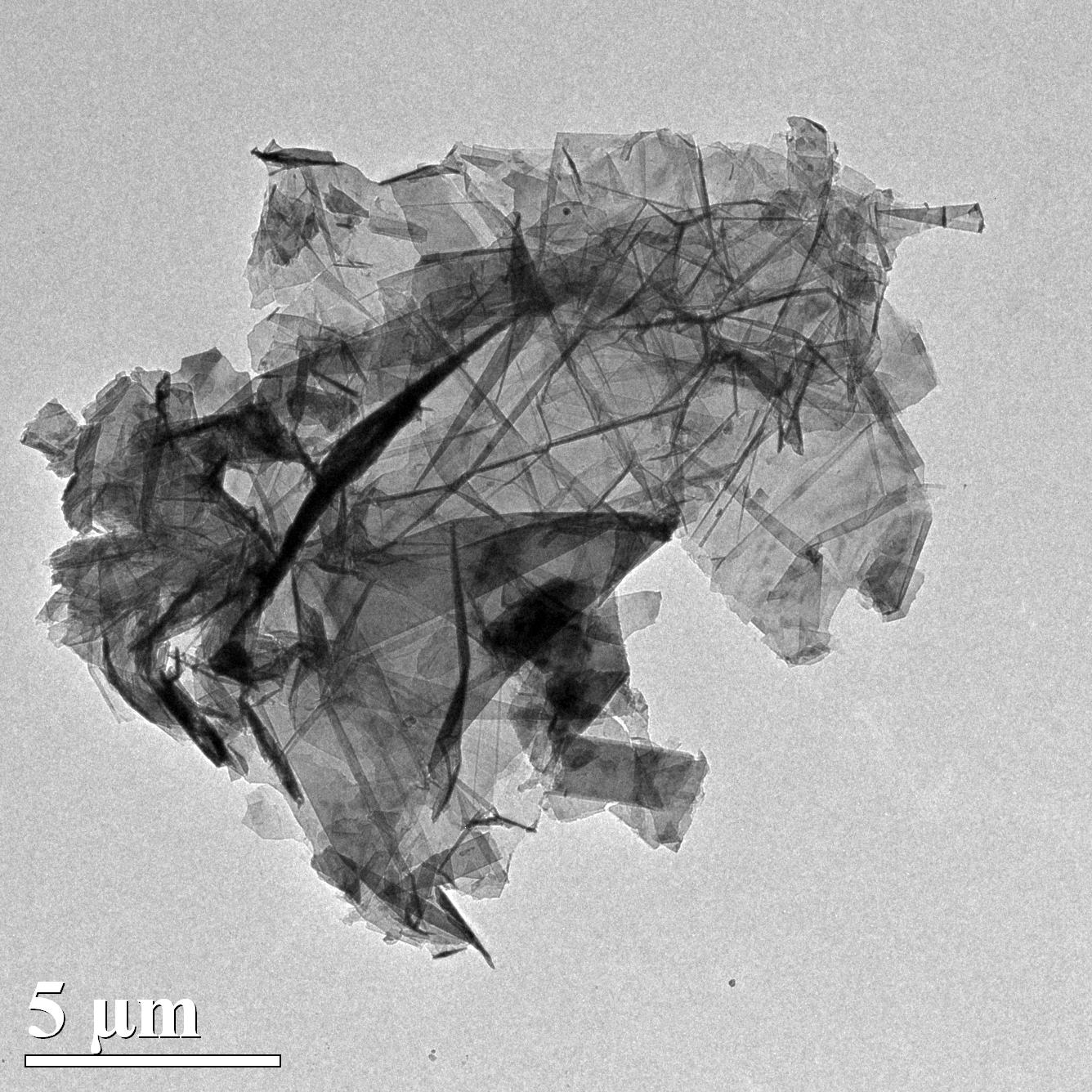 TEM-Graphene Nanoplatelets