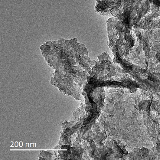 Typical TEM Image of ACS Material Graphidyne Powder