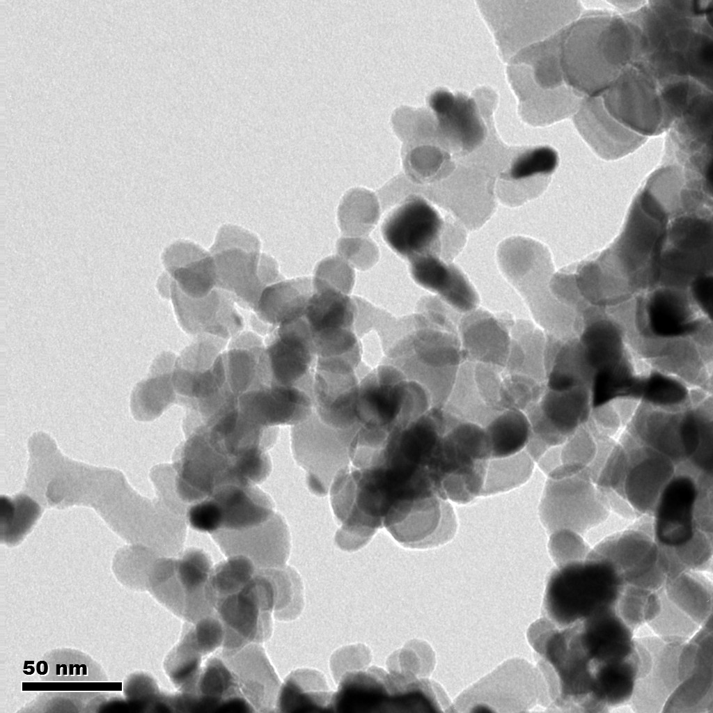 Typical TEM Image of ACS Material Titanium Carbide