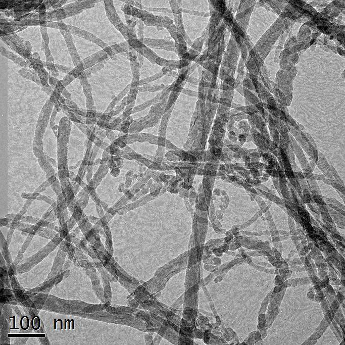 Fluorinated Carbon Nanotubes_TEM