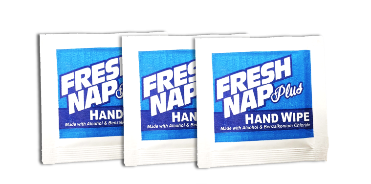 Fresh Nap Plus Hand Wipes