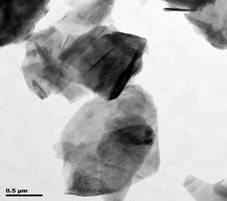 Typical TEM Image of ACS Material Natural Graphite Nanoparticles (2)