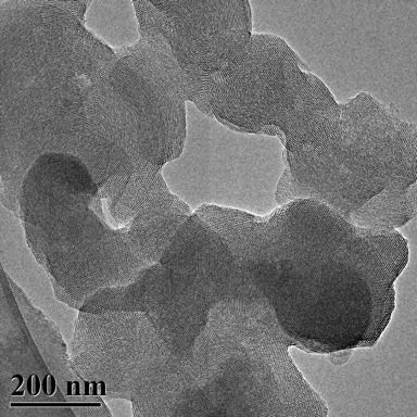 TEM Image (1) of ACS Material MCM-41 (Type B)